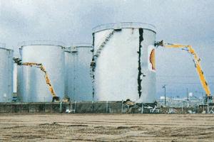 境港油槽基地解体撤去工事