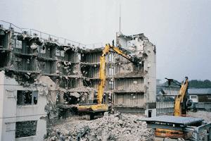 島根県松江市旧玉木建設解体工事