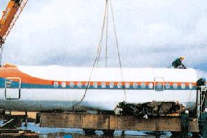 YS-11解体撤去工事