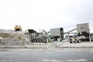 コンクリート及びアスファルトリサイクルプラント